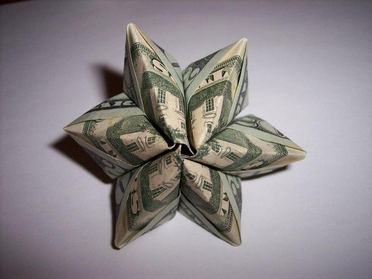 very cool money origami