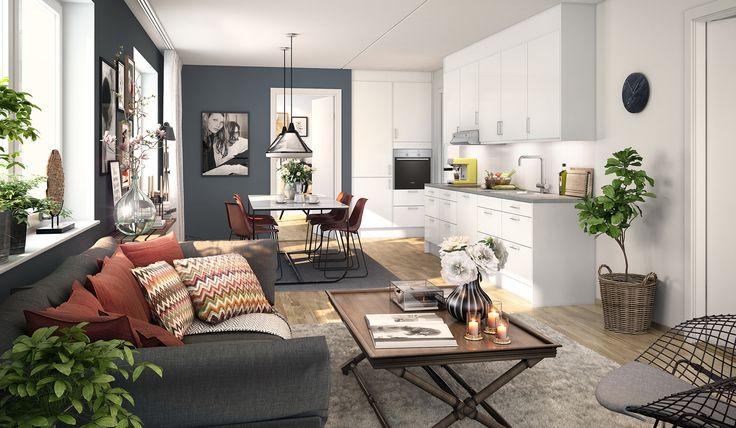 Interior Stue Inspirasjon : Kreative stuer for stil inspirasjon