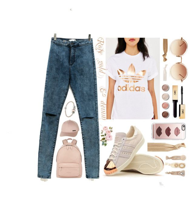 """Untitled #6"" by luc-ka on Polyvore featuring adidas Originals, adidas, Linda Farrow, Terre Mère, Casetify, Pandora, Givenchy and Billabong"
