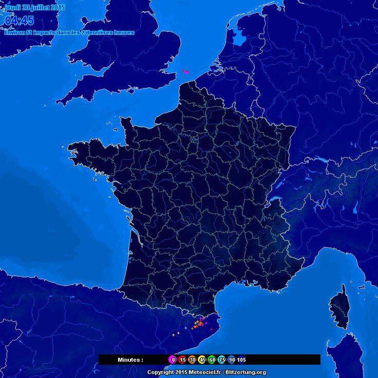 Suivi des orages - Meteo Paris - Le premier site météo pour Paris et l'île-de-France