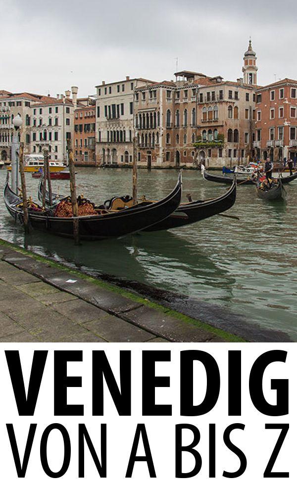 Sehenswürdigkeiten, Insidertipps, Ausflugsmöglichkeiten und kulinarische Empfehlungen für die Lagunenstadt Venedig.