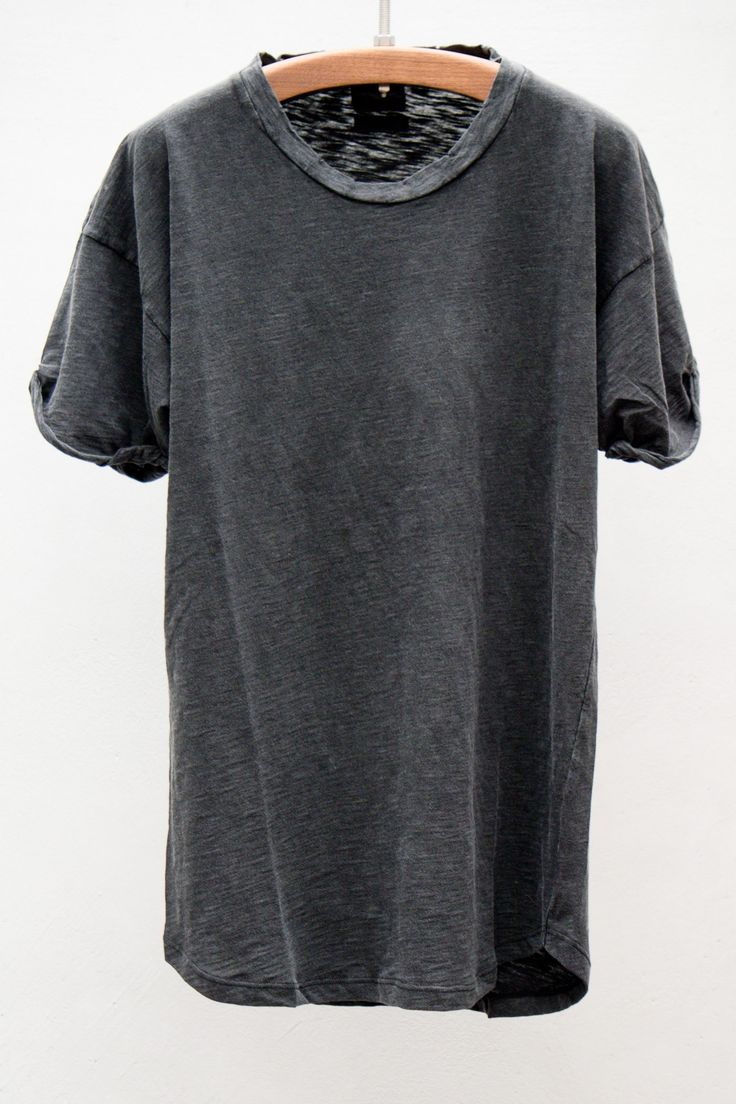 Olive Short Sleeve Tee — Noir