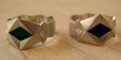 Ring JK - cubist inspired