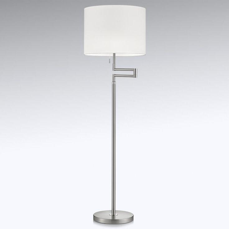 Flexible LED-Stehleuchte Lilian, dimmbar Jetzt bestellen unter: https://moebel.ladendirekt.de/lampen/stehlampen/standleuchten/?uid=db9d3bb0-9201-58f7-998e-97f833a8743b&utm_source=pinterest&utm_medium=pin&utm_campaign=boards #stehlampen #leuchten #lampen Bild Quelle: www.lampenwelt.de
