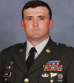 Army Sgt. 1st Class William R. Brown  Died November 6, 2006 Serving During Operation Enduring Freedom  30, of Fort Worth, Texas; assigned to the 1st Battalion, 3rd Special Forces Group, Fort Bragg, N.C.; died Nov. 6 of injuries sustained when an improvised explosive device detonated near his convoy vehicle in Sperwan-Gar, Afghanistan.