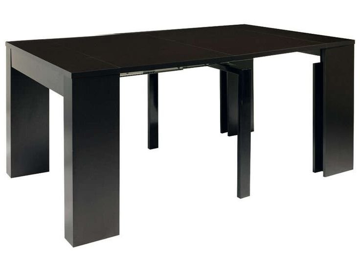 Table PENINSULE coloris noir - Vente de Console - Conforama