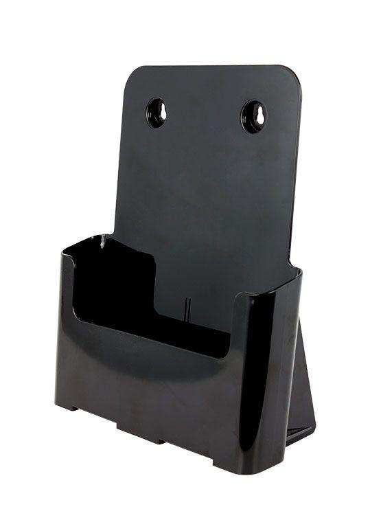 Dispensador de Folletos Negro para Colgar (varios modelos) - https://doncarteltienda.es/producto/dispensador-de-folletos-negro-para-colgar-varios-modelos/