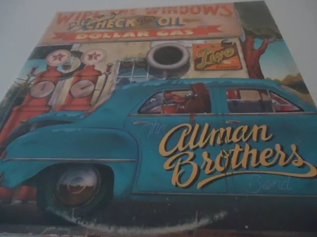 lp -allman brothers - wipe the windows check the oil dollar