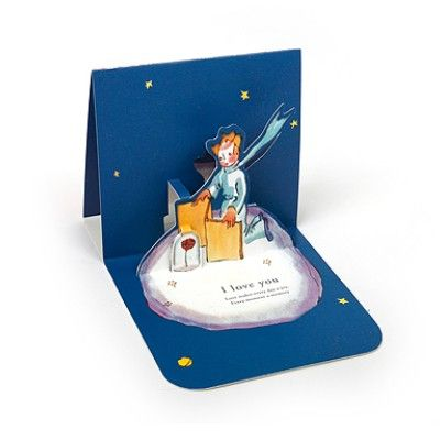 le petit prince pop up card