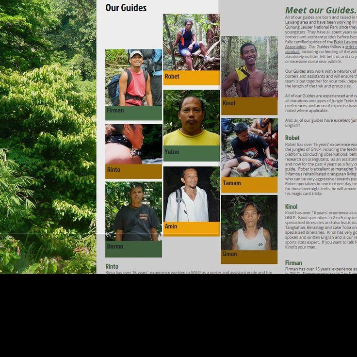 Meet the Guides of TrekSumatra Jungle Treks and Tours