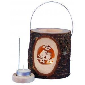 houten lantaarn uiltjes -finkbeiner