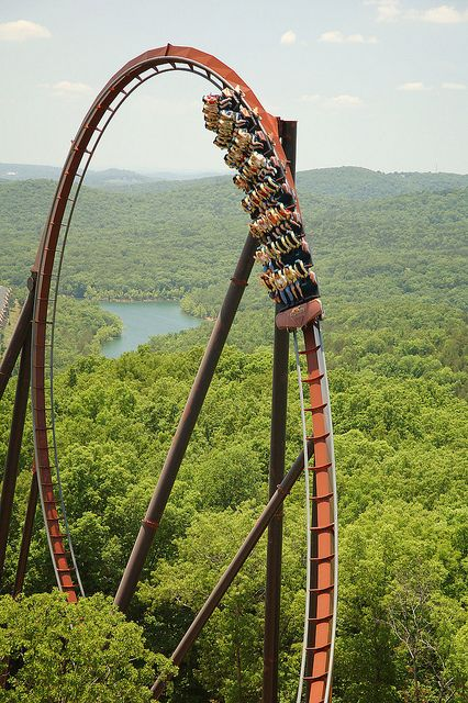 Wildfire-Silver Dollar City I loved this ride! It seemed very slow to watch but was faster to ride.