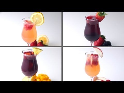 Sangria 4 Ways - YouTube
