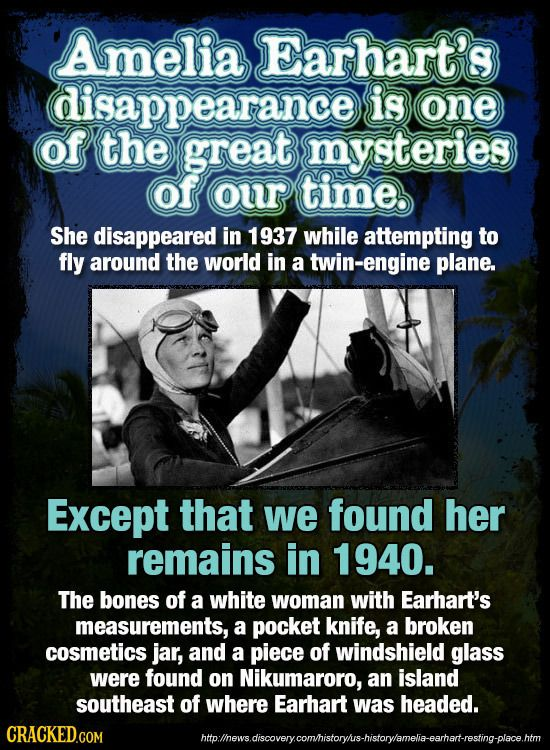 25 Famous Mysteries (That No One Realizes Were Solved) | Cracked.com