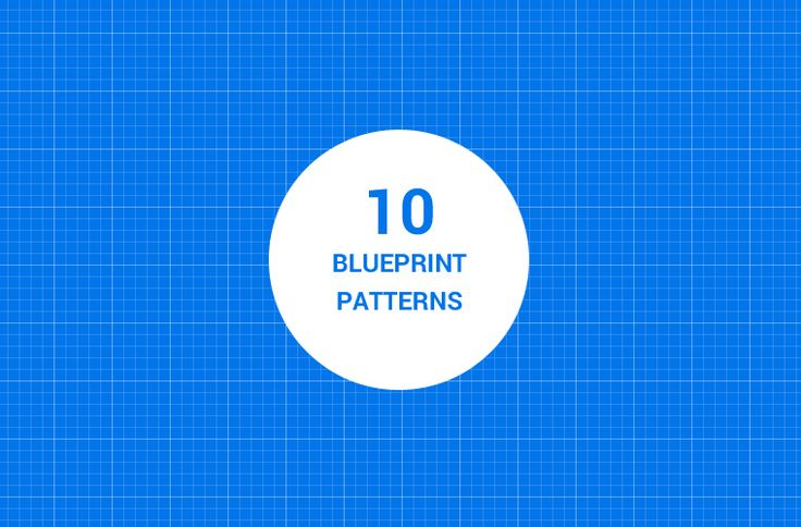 a free collection of 10 seamless blueprint Photoshop pattern
