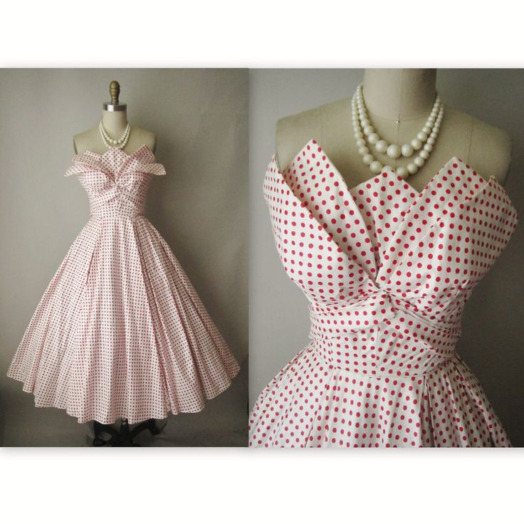 50's Fred Perlberg Dress by TheVintageStudio