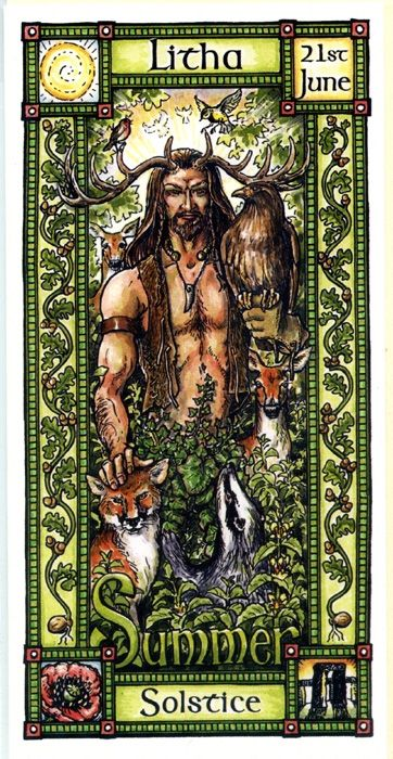 The Goddess and the Green Man | Litha Summer Solstice | Litha - Pinned by The Mystic's Emporium on Etsy