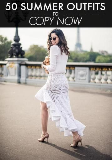 50 Stellar Summer Outfits to Copy This Instant!