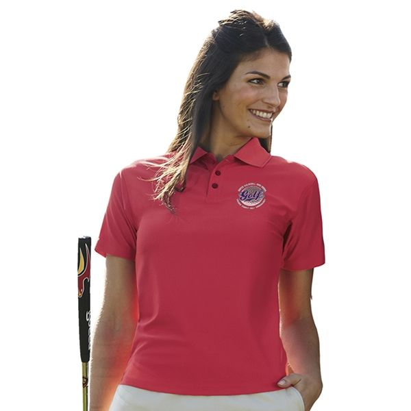 UltraClub 8414 Ladies' Cool & Dry Elite Performance Polo   Embroidered Logo UltraClub Sport Polos