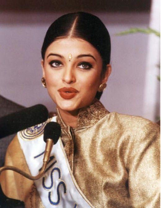 young Aishwarya Rai