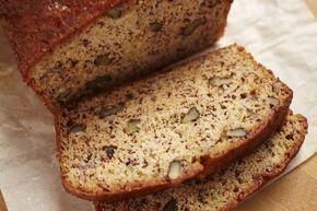 Банановый хлеб с орехами вместо давно надоевшей выпечки