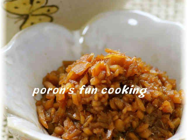 常備菜*生姜の佃煮*混ぜご飯にも♬の画像