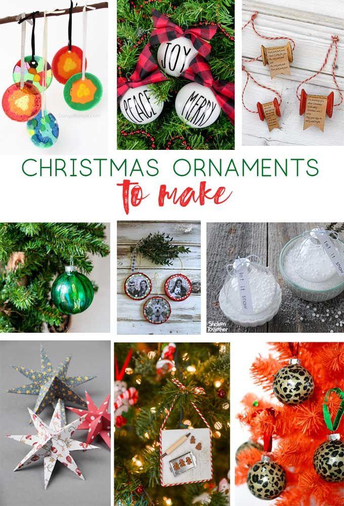 Diy Ornaments Christmas Ornaments Christmas Crafts Diy Crafts Kids Crafts Christmas Ornaments To Make Easy Christmas Diy Mason Jar Crafts Diy