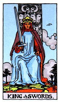 14 de Espadas, Significado de las cartas del Tarot