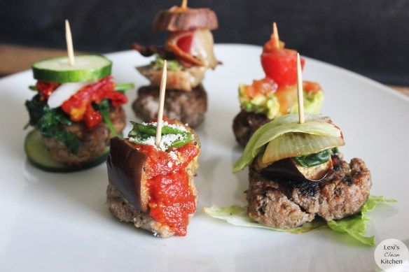 Paleo Burger Bites Appetizers   Lexiscleankitchen.com