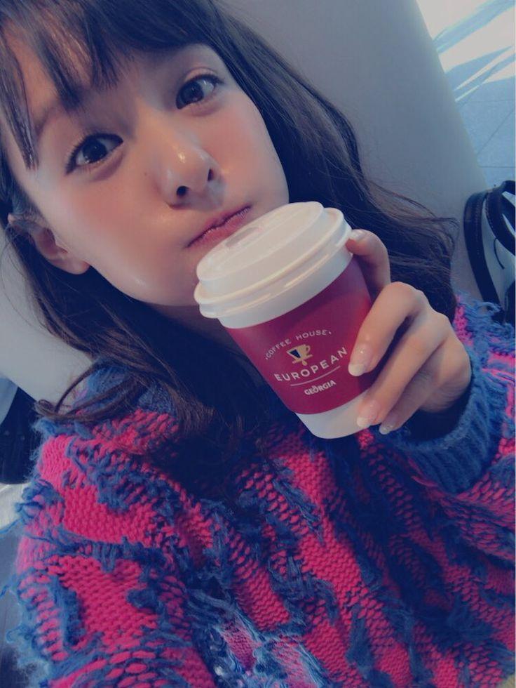 Nana has a coffee day | 山田菜々 on Twitter