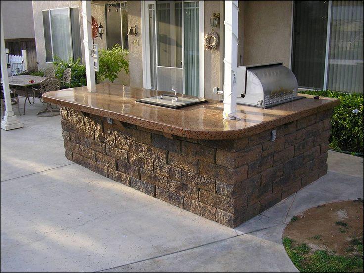 Concrete Countertops Rejuvenated and Sealed in Aliso Viejo, CA