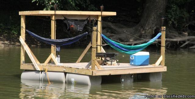25 best ideas about floating dock on pinterest dock for Pool platform ideas