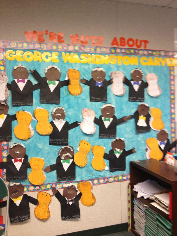 George Washington Carver Bulletin Board Black History