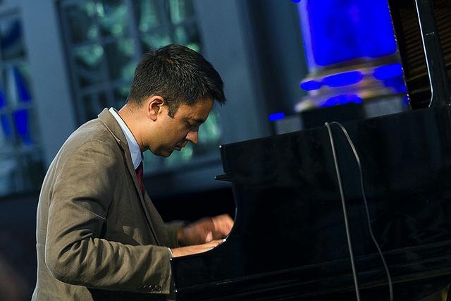 Vijay Iyer Trio i Kongsberg Kirke #kbgjazz