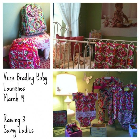 Vera Bradley Baby Launches March 14! Woot woot! #VeraBradley
