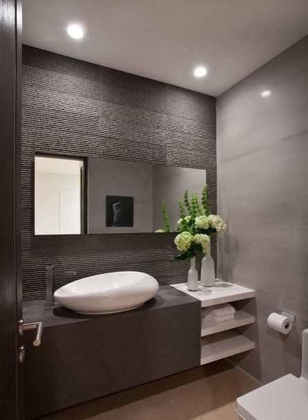 Minimalist Bathroom Designs Interior Inspiration. Arredamento bagno mobili minimal. Design interni.