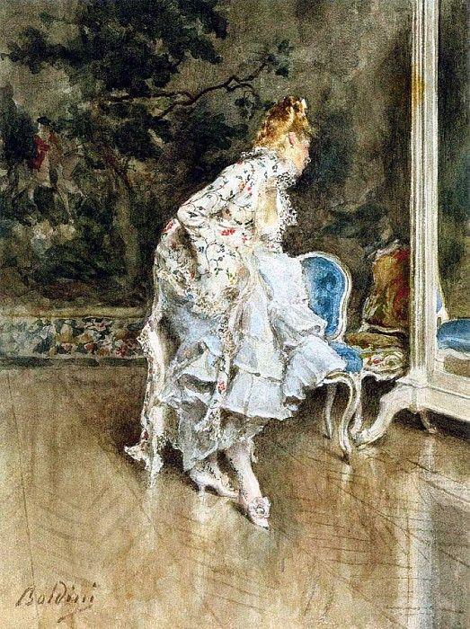 Красавица перед зеркалом. Джованни Больдини
