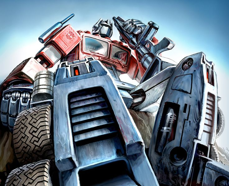 optimus prime.painting - Google Search
