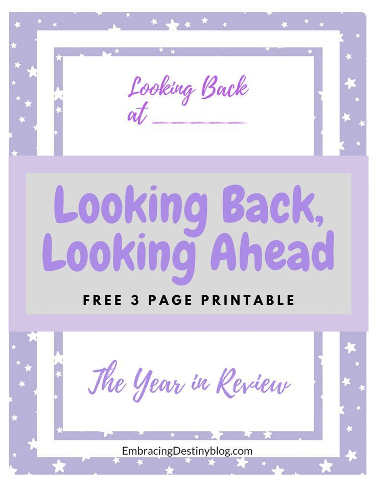 Free printable. Yearly reflections. Looking back, looking ahead. Purposeful living. Homeschool portfolio. Homeschooling records.