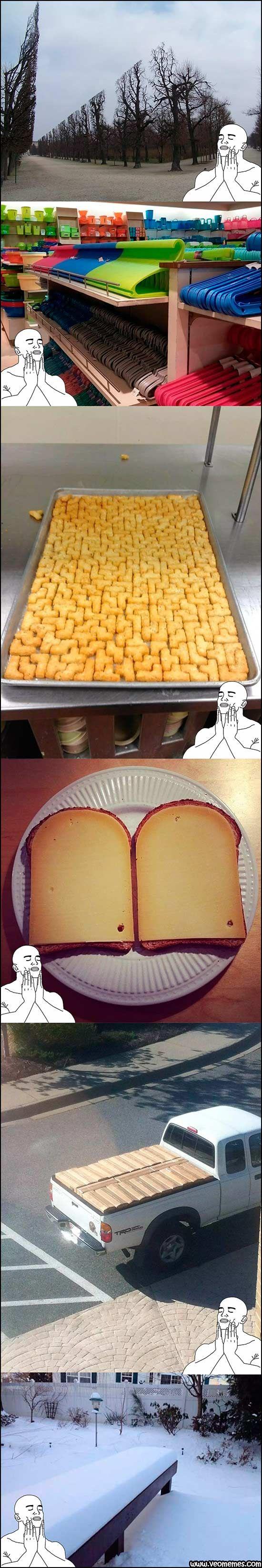 Memes en español: Nos encanta el orden y la simetría → #memesdivertidos…