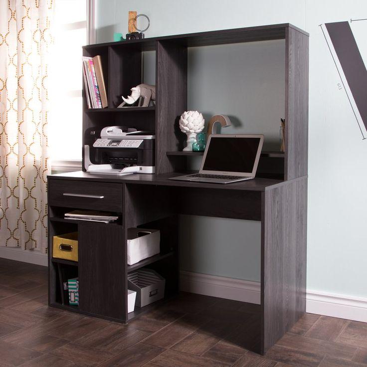 Best 25 Office Desk With Hutch Ideas On Pinterest White
