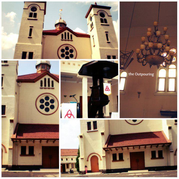 Chicken church at Pasar Baru