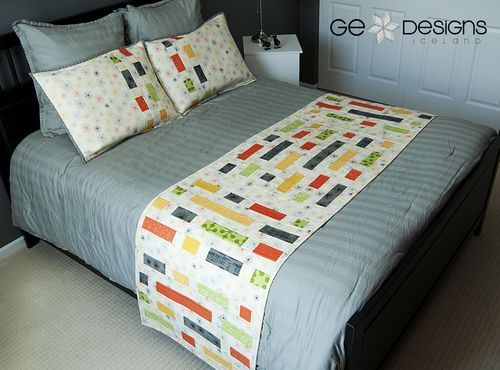 GE Designs Brick House bed runner | Quilted Bed Runners ...