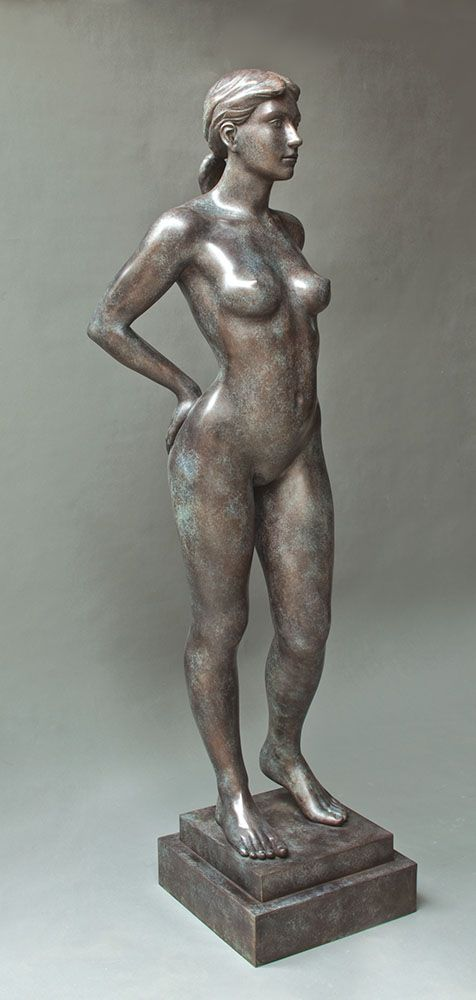 LOT 116 Phillip Piperides  SPRING 2000  bronze 170.0 cm height Estimate A$24,000 - A$30,000