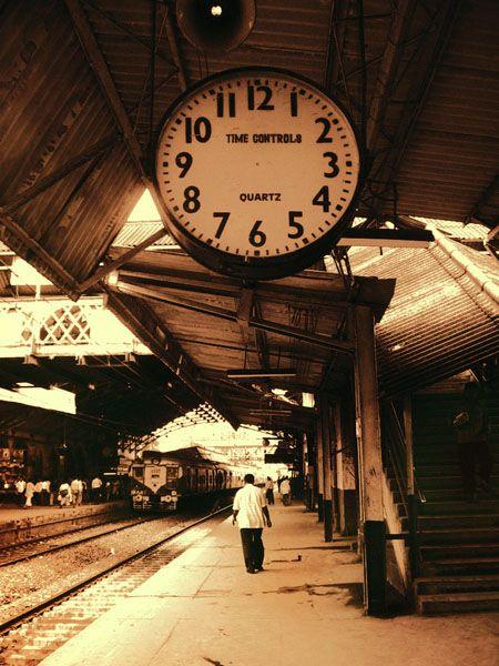 The Timeless Mumbai Railways... :) #TravelToIndia | #Mumbai | #Railways