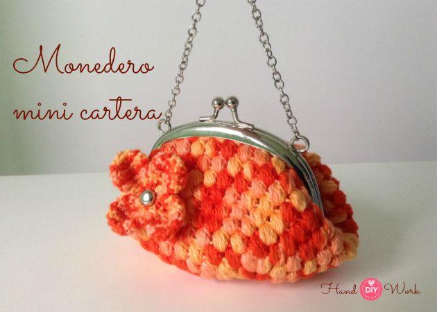Cómo hacer monedero crochet o ganchillo con boquilla Image
