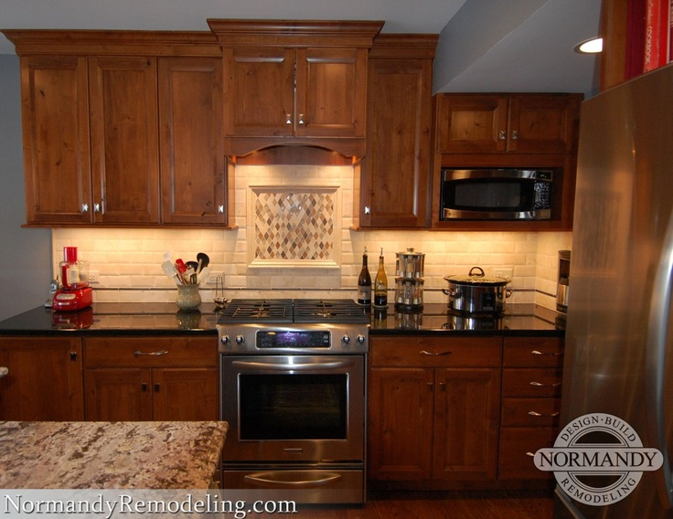 Rustic Knotty Alder Kitchen Cabinets CDxND Home Design in