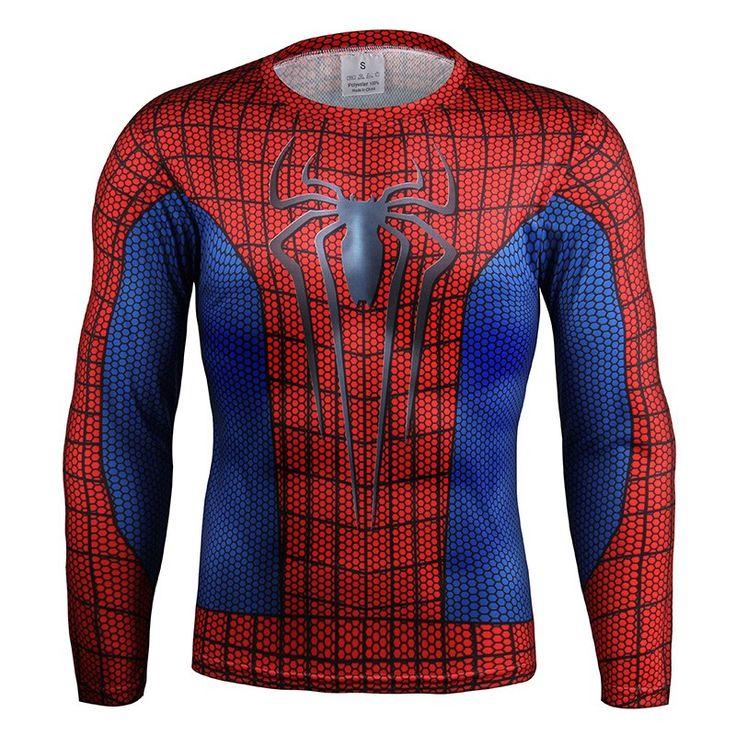 Spiderman Long Sleeve T-Shirt //Price: $24.95 & FREE Shipping //