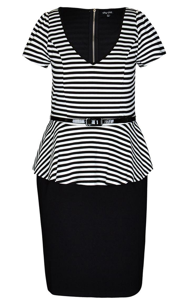 City Chic - O LA LA DRESS  - Women's Plus Size Fashion