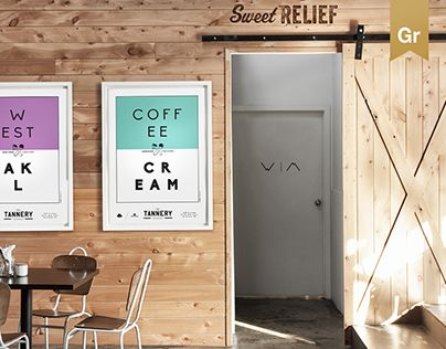 """Check out new work on my @Behance portfolio: """"The Tannery Cafē."""" http://on.be.net/1FOU8j8"""